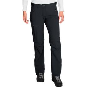 VAUDE Farley Pantalon Stretch zippé Femme, black